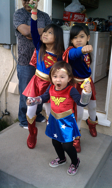 Super Hero Halloween